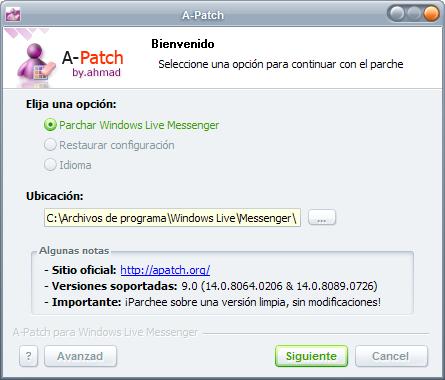 messenger multisesion 2011