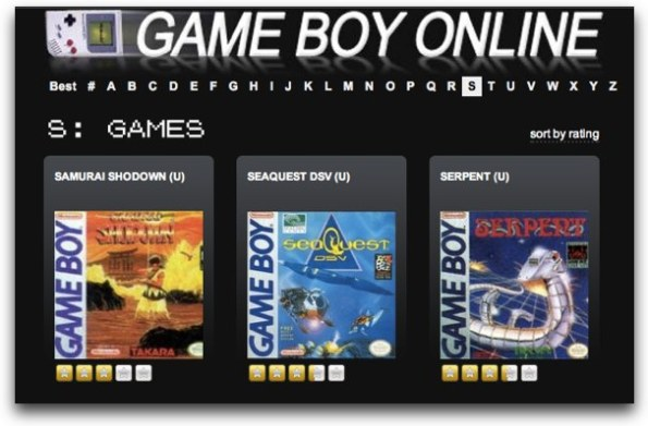 game boy online